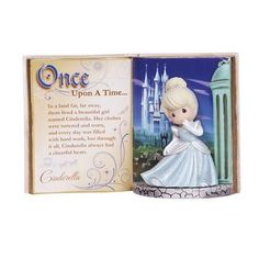 """Cinderella's charm and grace, even while facing the most dire of circumstances, is unrivaled. This lovely tribute to the original """"rags to riches"""" storybook princess, will enchant you at every turn. I"""