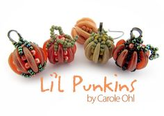 Li'l Punkins Beadweaving Tutorial by Carole Ohl by openseed