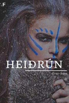 Heidrun Meaning True Rune Old Norse Names H Baby Names H Baby Names z Mand . - Heidrun Meaning True Rune Old Norse names H Baby names H Baby names z Almond-shaped eyes - H Baby Names, Strong Baby Names, Unique Baby Names, Names Girl, Norse Names, Norse Female Names, Female Fantasy Names, Feminine Names, Name Inspiration