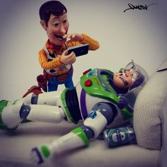 Woody and Buzz Lightyear~Toy Story