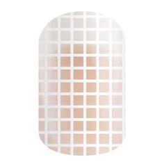Silkscreen - Layer this clear wrap featuring a delicate grid over any mani for a classic look, or wear it along and embrace the negative space trend.