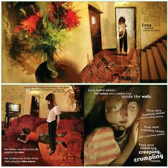 The Wolves in The Walls by Neil Gaiman, illustrations by Dave McKean