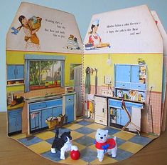 Doll's House Pop-up Book 1950s