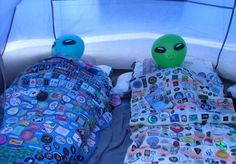 alien, grunge, and sleep image