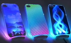 $15 for an OMG LED Light-Up Case for iPhone 4/4S ($29.95 List Price). 20 Styles Available. Free Shipping.