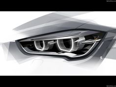 BMW-X1_2016 headlamp