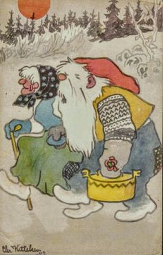 Kittelsen, Chr. Nissepar m/tine. Utg Oppi Stemplet 1942.