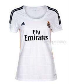 Real Madrid Jersey Women 2013 2014