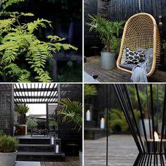 "Karina U lala Lauesen on Instagram: ""August vibes  #summer #smallgarden #citygarden #urbangarden #gardenroom #thegardenroom #gardendesign #have #hage #jardin #garden…"""