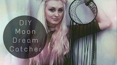 DIY dream catcher // Moon Magic - YouTube