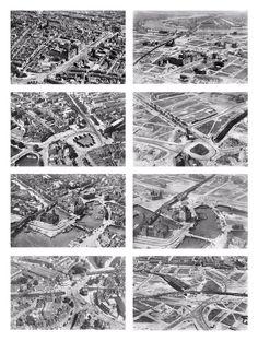 Rotterdam voor en na het bombardement