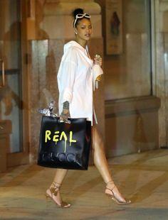 Rihanna style mode Gucci ghost