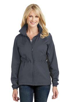 Port Authority  L330 - Ladies Core Colorblock Wind Jacket #portauthority #windjacket #outerwear