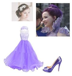 """""""descendens"""" by maria-calinaa ❤ liked on Polyvore featuring Christian Louboutin"""