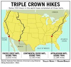 Triple Crown Hiking