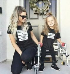 matching mother daughter T-shirts summer mum kids outfit mini boss family look t shirt super mum girl family matching clothes Mom And Baby Outfits, Toddler Girl Outfits, Toddler Fashion, Kids Outfits, Kids Fashion, Toddler Tutu, Matching Family T Shirts, Matching Outfits, Matching Clothes