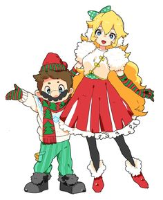 Tags: Anime, Fanart, Nintendo, Super Mario Bros., Pixiv