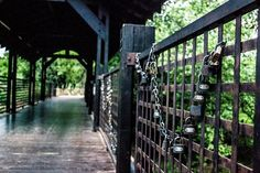 Avianto, locks of love bridge! Love Bridge, Garden Bridge, Locks, Our Wedding, Stairs, Outdoor Structures, Romantic, Outdoor Decor, Stairway