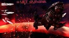Earth Forces Battleship Gungnir by samurairyu on DeviantArt