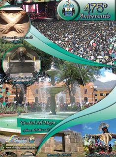 475º aniversario de la ciudad de Huánuco