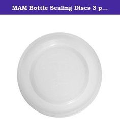 MAM Bottle Sealing Discs 3 per pack - Pack of 4. These sealing discs transform all MAM bottles and trainers into storage containers - ideal for on the go use - For safe storing in fridge or freezer - BPA FREE - 3 pieces - 0+ Months.