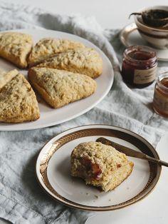 Orange cardamom scones.