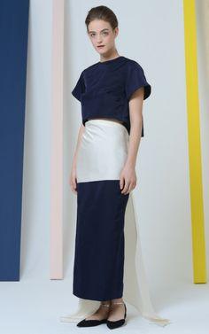 Rosie Assoulin Fall/Winter 2014 Trunkshow Look 26 on Moda Operandi