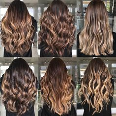 Long Wavy Ash-Brown Balayage - 20 Light Brown Hair Color Ideas for Your New Look - The Trending Hairstyle Brown Ombre Hair, Brown Blonde Hair, Brown Hair With Highlights, Light Brown Hair, Brunette Hair, Dark Blonde, Highlighted Hair For Brunettes, Carmel Ombre Hair, Blonde Hair Honey Caramel