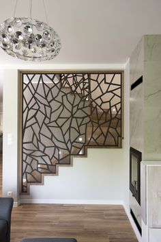Interior Design Your Home, Home Stairs Design, Stair Railing Design, House Furniture Design, Home Room Design, Living Room Designs, Living Room Partition Design, Room Partition Designs, House Front Design