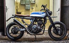 Suzuki XF650 Street Tracker - Andreas Albin Knüpfer #motorcycles #streettracker #motos | caferacerpasion.com