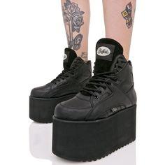 ed16b93cbd8 Buffalo Texas Platform Sneakers cuz everythang s bigger in Texas