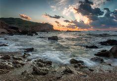 пейзаж, природа, режимный свет, море, лето