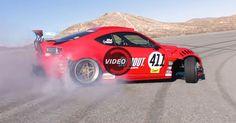 Ferrari-Powered Toyota 86 Makes Track Drifting Debut #Ferrari #Ferrari_458