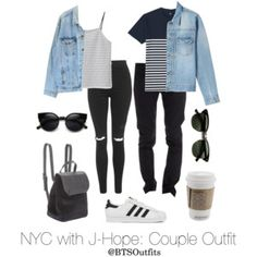 NYC with J-Hope: Couple Outfit