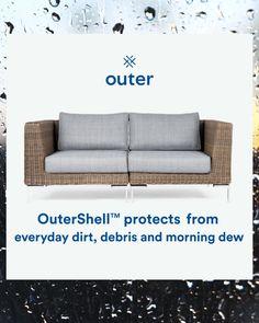 Outdoor Seating, Outdoor Sofa, Outdoor Spaces, Outdoor Living, Outdoor Decor, Porch Furniture, Outdoor Furniture, Treasure Coast, Shopping Places