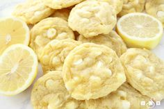Soft, chewy and perfectly sweet- these lemon pudding cookies are a family favorite! Added lemon zest brightens the flavors.They're super easy to make too!