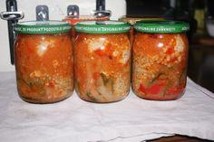 Roladki schabowe w sosie z kaszą , obiad ze słoika - Ogrodnik w podróży Taste Of Home, Salsa, Mason Jars, Food And Drink, Homemade, Recipes, A5, Canning, Essen