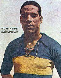 """Domingos da Guia — """" Coloco em primeiro lugar o Garrincha. Depois, Pelé, Zizinho, Ademir, Rivelino, Gérson, Zico, meu filho Ademir. """""""