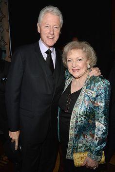 Bill Clinton & Betty White