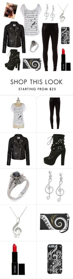 """style 1504"" by bellaannabella ❤ liked on Polyvore featuring Vero Moda, Giani Bernini and Lord & Berry"