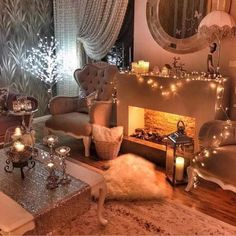 Image about white in Deco 🏡 Home by M o O n 🌙 Cozy Living Rooms, My Living Room, Apartment Living, Living Room Decor, Living Spaces, Home Design, Home Interior, Interior Design, Faux Fireplace