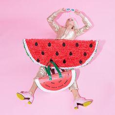 Roo's Beach - Ban.dó Super Chill Watermelon Cooler Bag