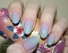 OPI Lucky Lucky Lavender+ China Glaze For Audrey + China Glaze Fairy Dust