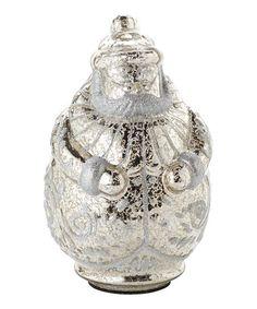 Look what I found on #zulily! Glass Santa Figurine by Department 56 #zulilyfinds