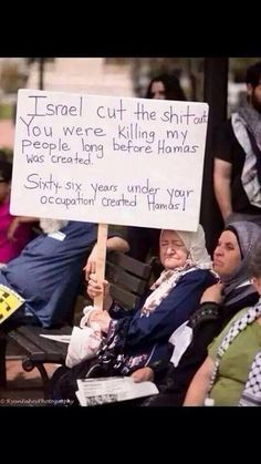 From grandma : Israel cut the shit out...