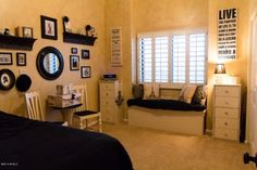 Beautiful teen bedroom