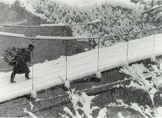 稲住(秋田県湯沢市)Inazumi, Japan, February 1958 by Kiichi Asano