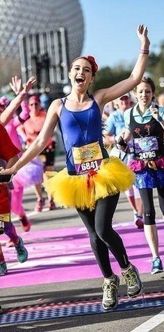 23 DIY Costumes You'll Only See At A Disney Princess Race