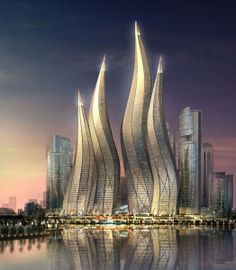 Dubai Towers, Dubai, UAE - Desperately want to go here someday #dubai #uae