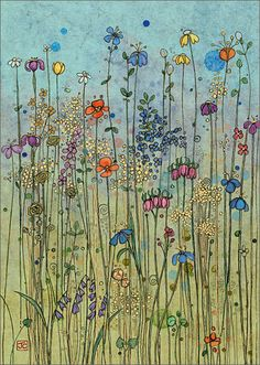 BugArt Paper & Foil ~ Meadow. PAPER & FOIL Designed by Jane Crowther.